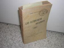1907.les catholiques décadents / abbé David-Léonart