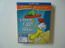 Dr. Seuss's Green Eggs and Ham and Other Stories (Blu-ray/Dvd) New w/slipcover