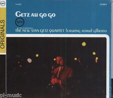 = GETZ AU GO GO - A LIVE PERFORMANCE [A.GILBERTO/CD sealed /STICKERS FROM POLAND