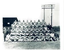 1961 SAN DIEGO CHARGERS 8X10 TEAM PHOTO AFL  CALIFORNIA FOOTBALL NFL
