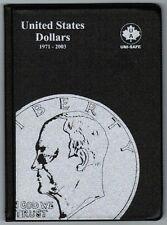 Uni-Safe United States US Dollars 1 Dollar Coin Album Folder 1971-2003 USA