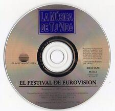 "RAPHAEL - MASSIEL - JULIO IGLESIAS KARINA ""EL FESTIVAL DE EUROVISION"" SPANISH CD"