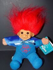 "Troll Doll 6"" Russ Plush SoftBody Father's Day Super Dad w/tag"