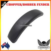 Black custom front rear wheel fender mudguard Harley chopper bobber cafe racer