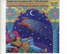 CD LORIN MAAZELTchaikovsky symphony no 2 little RussianTELARC EX+ (A5777)