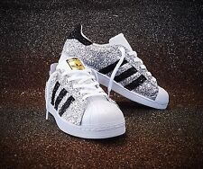 Shoes adidas Superstar With Glitter Black Silver Glitter