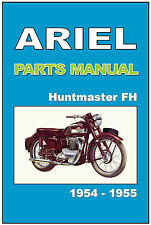 ARIEL Parts Manual FH Huntmaster 650 1954 & 1955 Replacement Spares Catalog