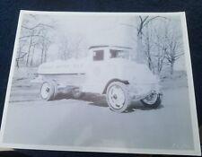 Vintage Photo Mack Socony gas truck  8x10 1920s