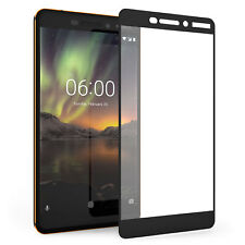 Nokia 6 2018 Screen Protector Best Tempered Glass Thin 100% Full Protection UK