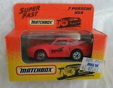 MATCHBOX MB 7 PORSCHE 959 RED with BLACK & YELLOW DETAILING - NEW in BOX