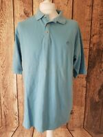 Mens Timberland Polo Shirt Blue Medium 48 Chest