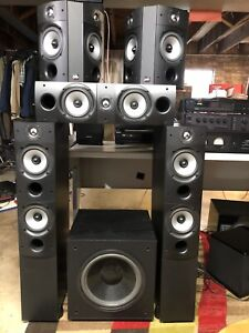 PSB 5.1 surround speaker set