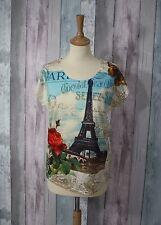 T-shirt motif tour Eiffel  °°°°° Neuf   taille XL °°°CA2°°°