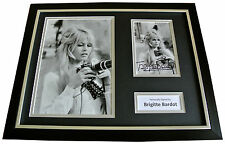 BRIGITTE BARDOT Signed FRAMED Autograph 16x12 Photo Display HOLLYWOOD Film & COA