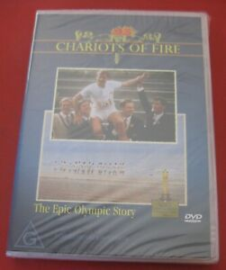 1 X DVD - CHARIOTS OF FIRE - THE EPIC OLYMPIC STORY - PAL - NEW