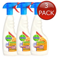 3 x Dettol Complete Clean Multi Purpose Kitchen Spray Home Cleaning Bulk 440mL