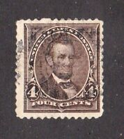 United States stamp #254, used, 1894, SCV $11.00