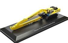 Komatsu PC340 Hydraulic Excavator W122 Stobart Rail, Atlas Magazinmodell 1:76