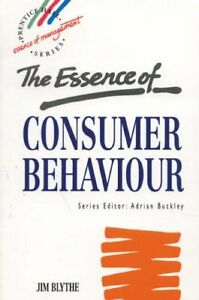 The Essence of Consumer Behaviour (Essence of Management: Prentice Hall Serie.