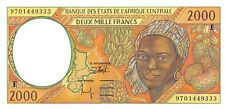 Central African States (E) Cameroun 2000 Francs 1997 Pn 203Ed Unc
