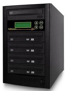 CD DVD Duplicator 1-4 burner 24X Copystars DVD copier Copy Tower