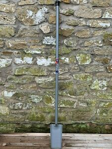 Spear & Jackson Post Hole Spade - All Steel, Long Handle Fencing Grafter Drainer