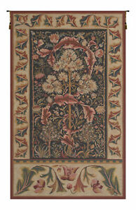 """Acanthus by William Morris French Art Renaissance Tapestry Wall Hanging 26x19"""""""