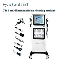 Compared to Hydra Facial 7 in 1 Injection Oxygen Water Aqua Peel RF Ultrasound