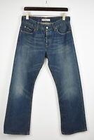LEVI STRAUSS & CO. 512 BOOTCUT Men's W33/~L30* Fade Effect Blue Jeans 33657-GS