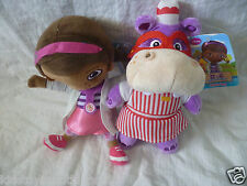 DOC MCSTUFFINS  -  DOC AND HALLIE  PLUSH SOFT TOY  21cm BRAND NEW WITH TAG