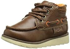 Little Boys Toddler Brown Oshkosh Dress Casual Lace up Boot Shoe Size 11 T Gift