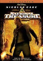 National Treasure (Full Screen Edition) [DVD] NEW!