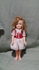 """Shirley Temple Doll Vintage 1972 14"""""""