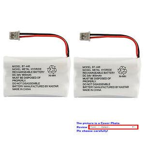 BT446 Cordless Phone Battery for Uniden BT-446 BT446 BP-446 BP446 BT-1005 BT1005