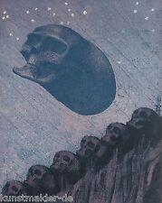 Museales Exemplar ! Ernst Fuchs (1930-2015) ORIGINAL Farbradierung #173 XV/XXIV