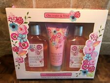Orchard & Vine Cherry Blossom Bath & Body Collection Bath Set