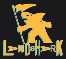 Land Shark Clothing Gotshark Skateboard Sticker - Gotcha Tribute Surf black sk8