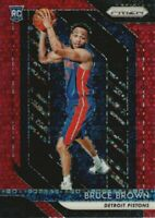 2018-19 Panini Prizm Basketball Fast Break Red #132 Bruce Brown /125