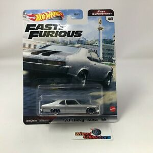 '70 Chevy Nova SS * Hot Wheels Fast & Furious FAST SUPERSTARS * IN STOCK