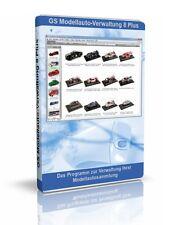 Modellauto-Verwaltung 8 Plus - Software für Sammler