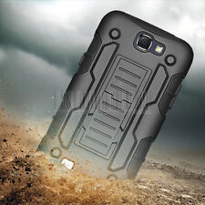 Rugged Armor Hybrid Rubber Holster Case Cover for Samsung Galaxy Note II 2 N7100