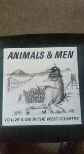 """Animals & Men 'To Live and Die in the West Country' 10"""" vinyl EP BRAND NEW"""
