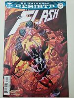 THE FLASH #30 (2017) DC UNIVERSE REBIRTH 1ST APPEARANCE OF BLOODWORK! VARIANT