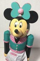 "Disney Parks Cars Land Minnie Flo's V-8 Cafe Waitress Christmas Nutcracker 13"""