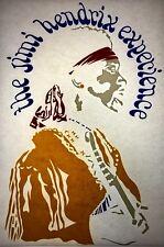 Jimi Hendrix Memorabilia 70s 80s, vintage retro tshirt transfer print new, NOS