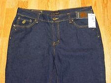 NWT ROCAWEAR BABY FLARE BLUE JEANS WOMEN'S SIZE 18 - MSRP - $68.00