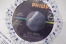 45A DUSTY SPRINGFIELD STAY AWHILE / SOMETHING SPECIAL ON PHILIPS RECORDS