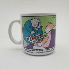 The Far Side Gary Larson Cats, Hamsters Mice & Gerbil Candy Box Coffee Mug