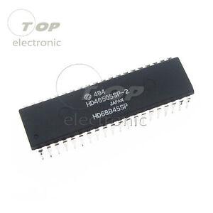 1/5PCS HD68B45SP HD46505SP-2 ICs NOS HITACHI NON-VGA Video Controller 40PINS