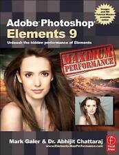 Adobe Photoshop Elements 9: Maximum Performan... by Chattaraj, Abhijit Paperback